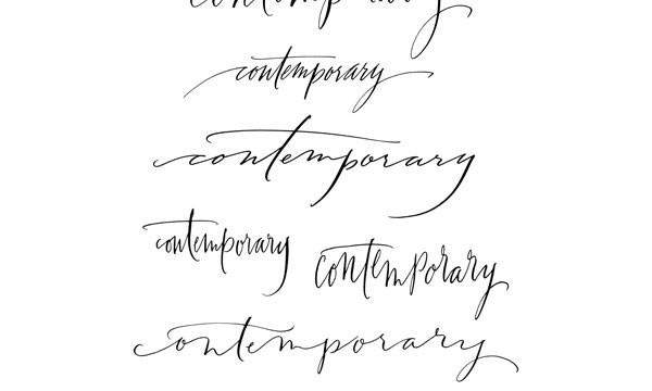 Modern Calligraphy S