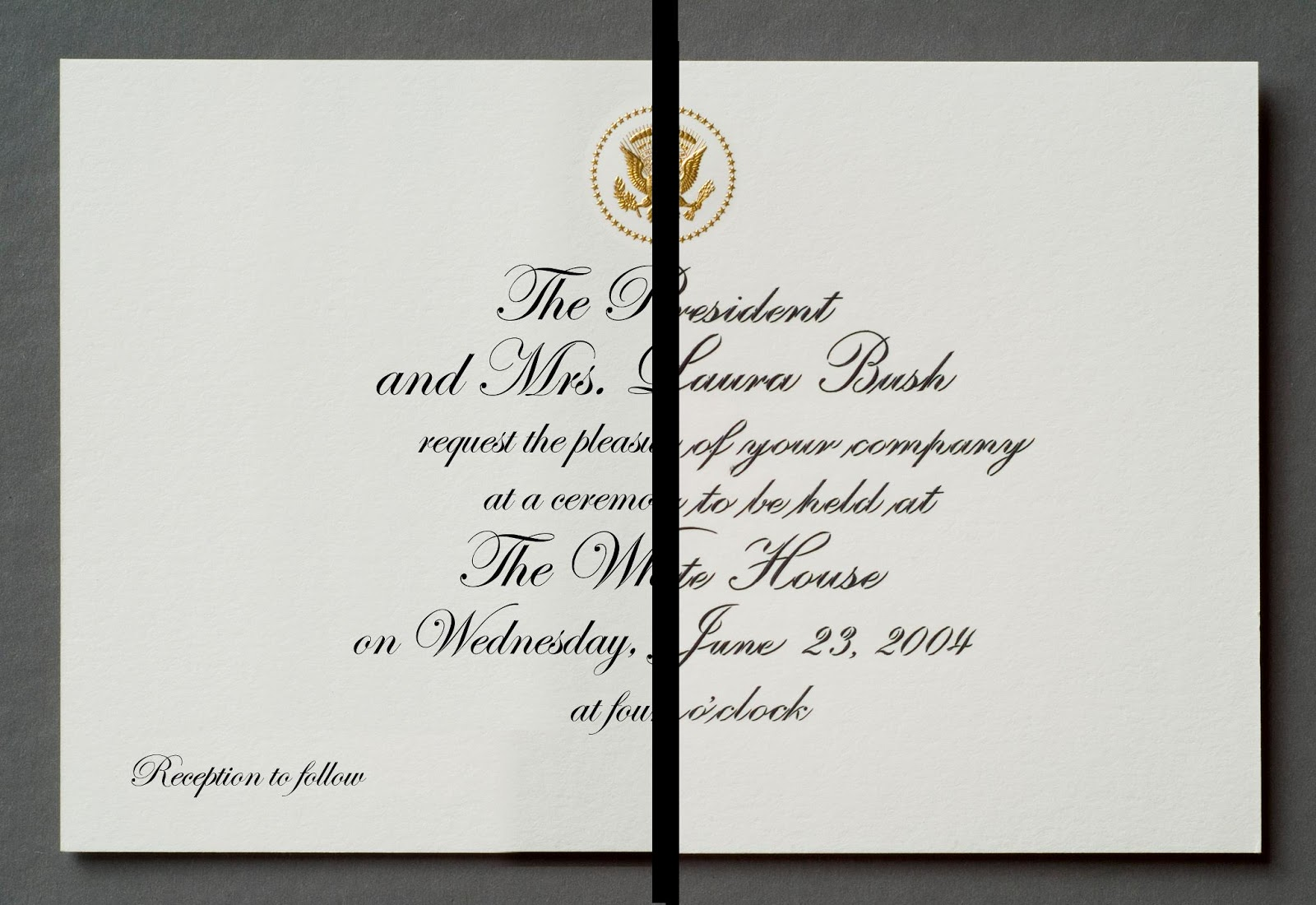 White House non-Calligraphy @ paperwhitestudio.com