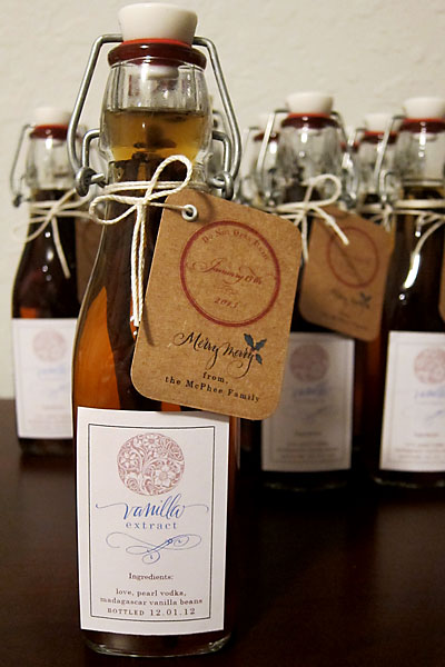 vanilla extract label at paperwhitestudio.com